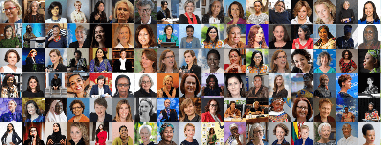 Gender Equality: The World's 100 Most Influential People in